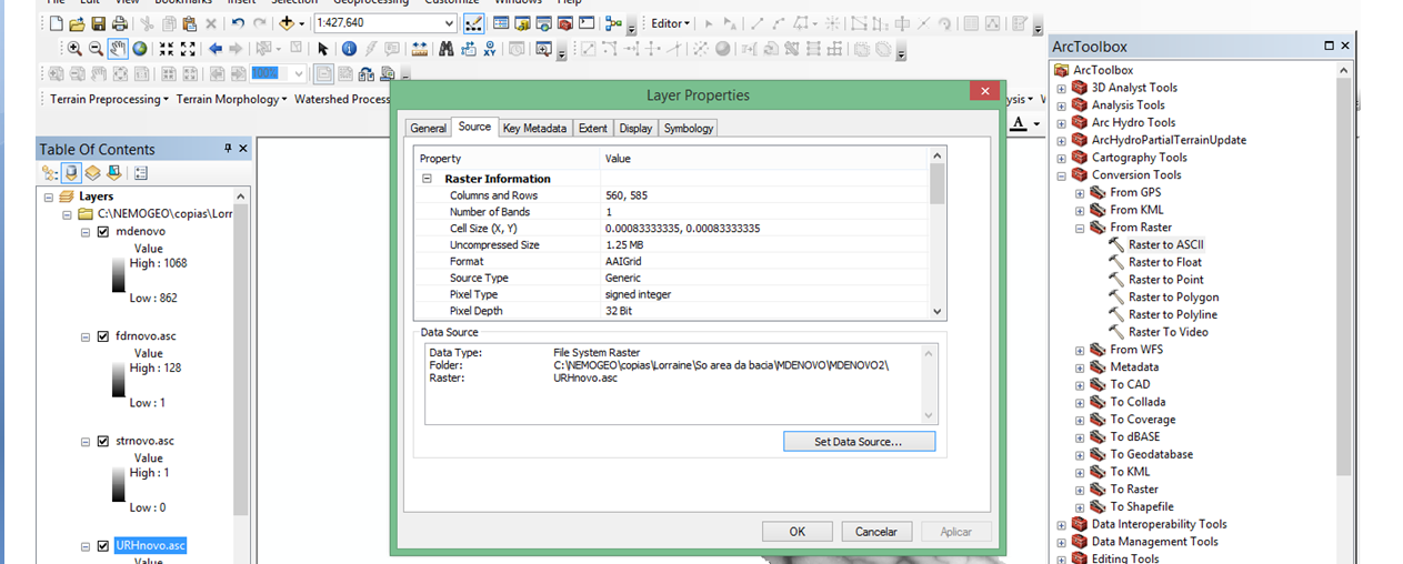 Erro Cellsize - MGB Pre Processing X1ejpj