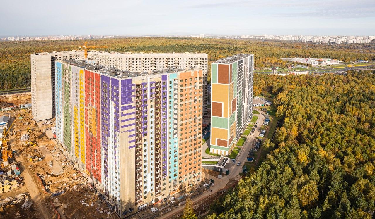 """Первый проект ГК """"Эталон"""" (""""Эталон-Инвест"""") в Москве - ЖК """"Эталон-Сити"""" Xaq9nn"""