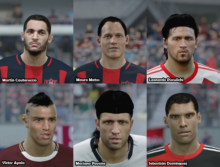 Faces Futbol Argentino PACK 19 Xclicg