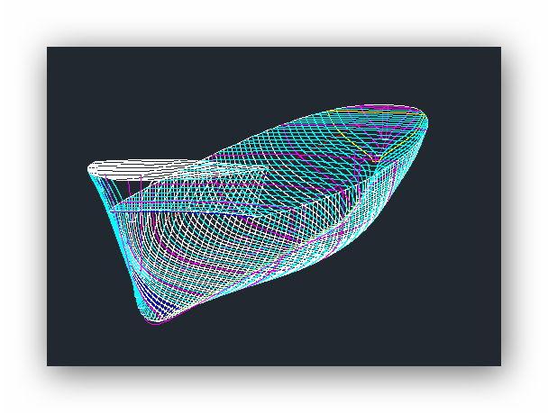 """MB """"Premuda"""" u crtežima CAD programa 106htuq"""