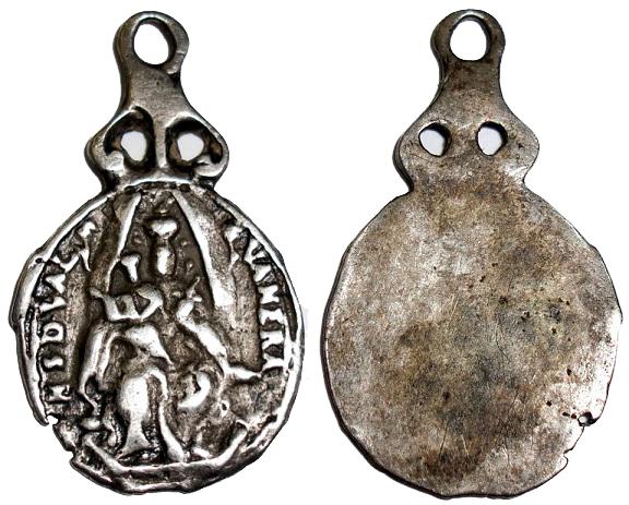 Virgen de Valvanera en Plata (R.M. SXVII-O374) (MAM) 11v4n81