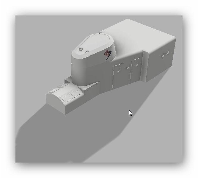 """MB """"Premuda"""" u crtežima CAD programa 125l4c7"""