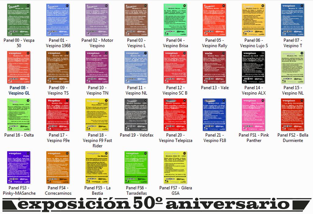 Exposición 50º Aniversario del Vespino, 17 Feb 125o186