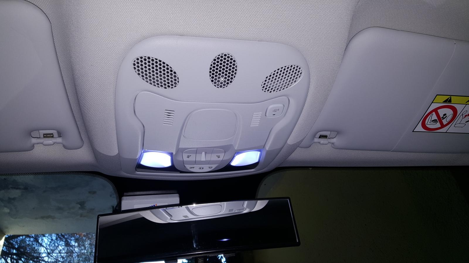 Desmontagem (iluminação interna) 13z605s