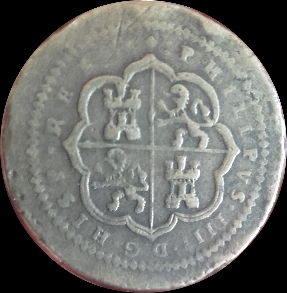 ponderal de Felipe IV 149o7ix