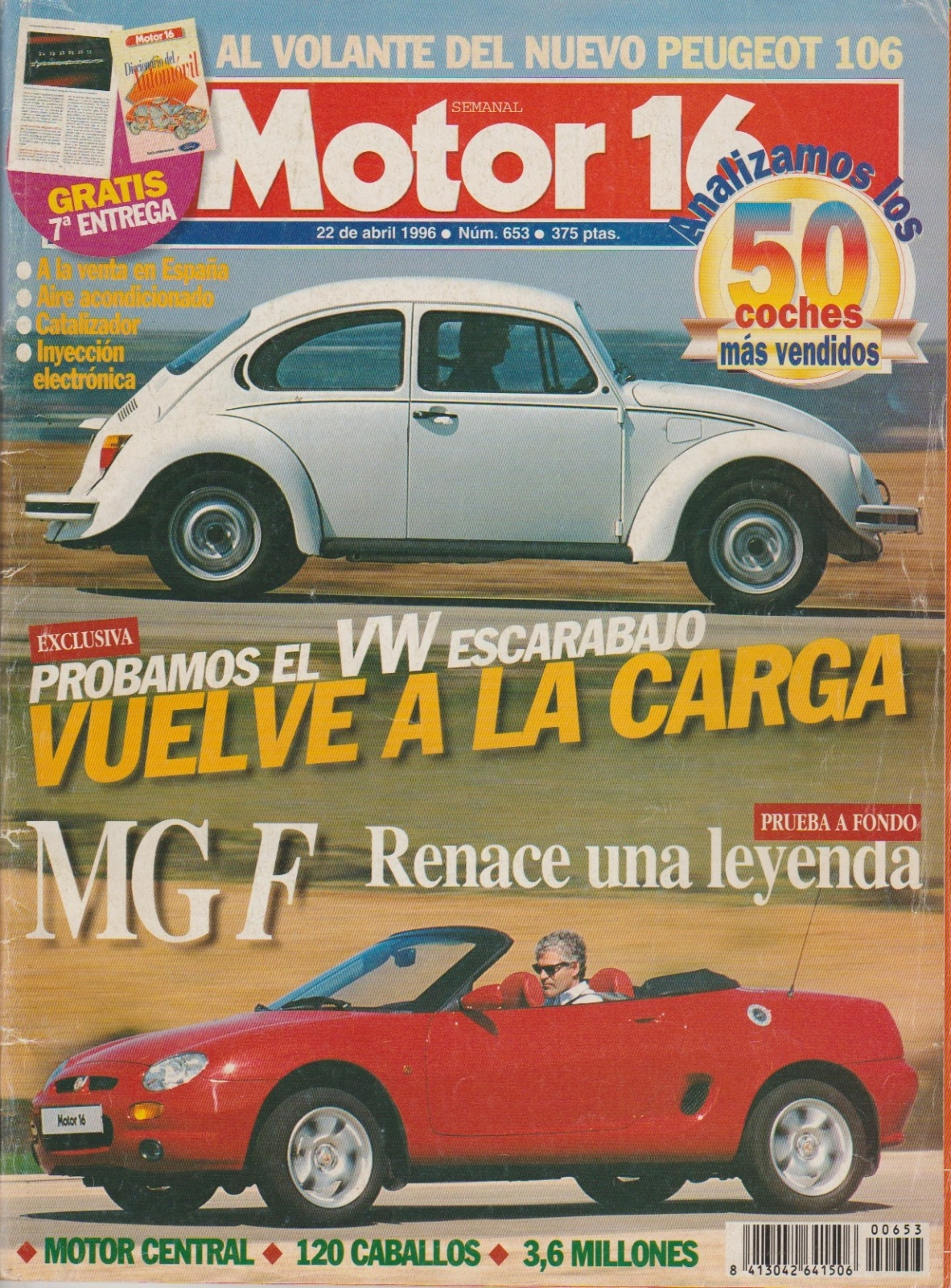 Prueba del Escarabajo 1600i por Motor 16 (1996) 149v2b5