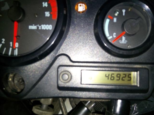 CBR 600 F4 sem km / rotações / velocidade e temperatura 16bk3l3