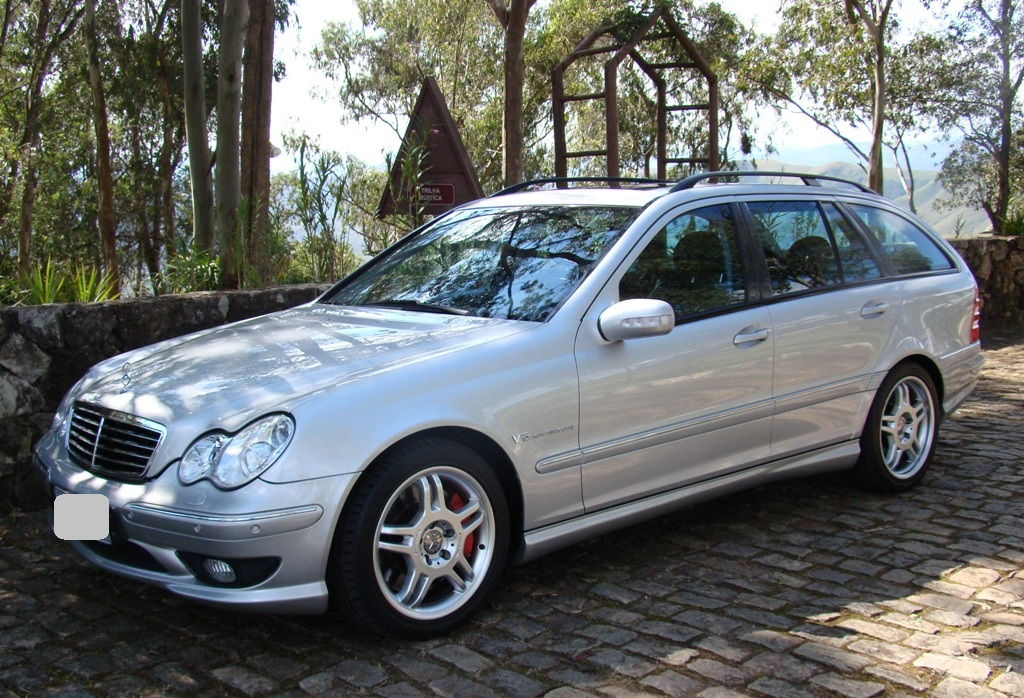 W203 C32 Touring AMG 2001 - R$ 79.000,00  1x1ee