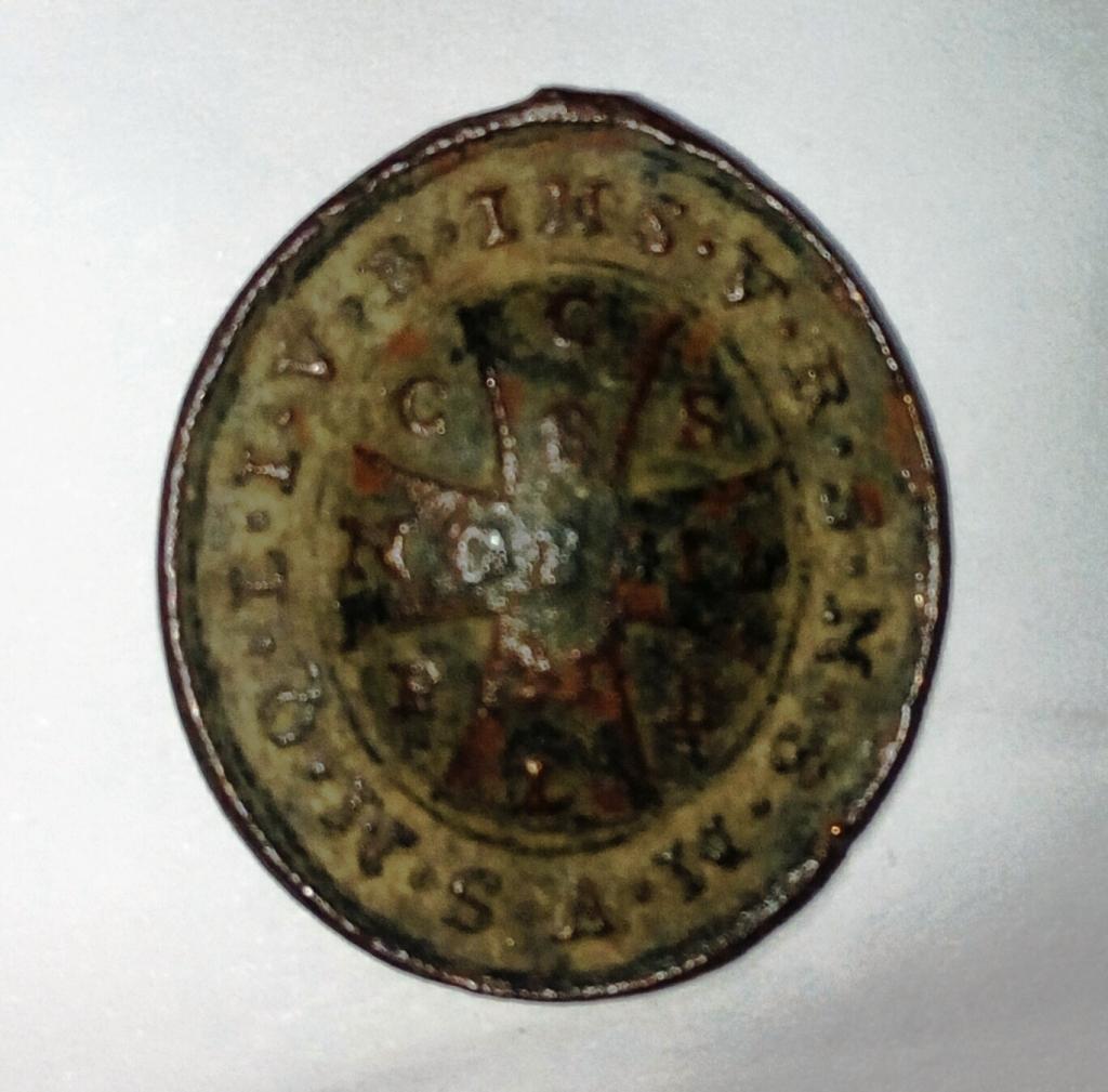 Medalla de S. Benito / Cruz de S. Benito -s. XVIII- 1z4ygrn