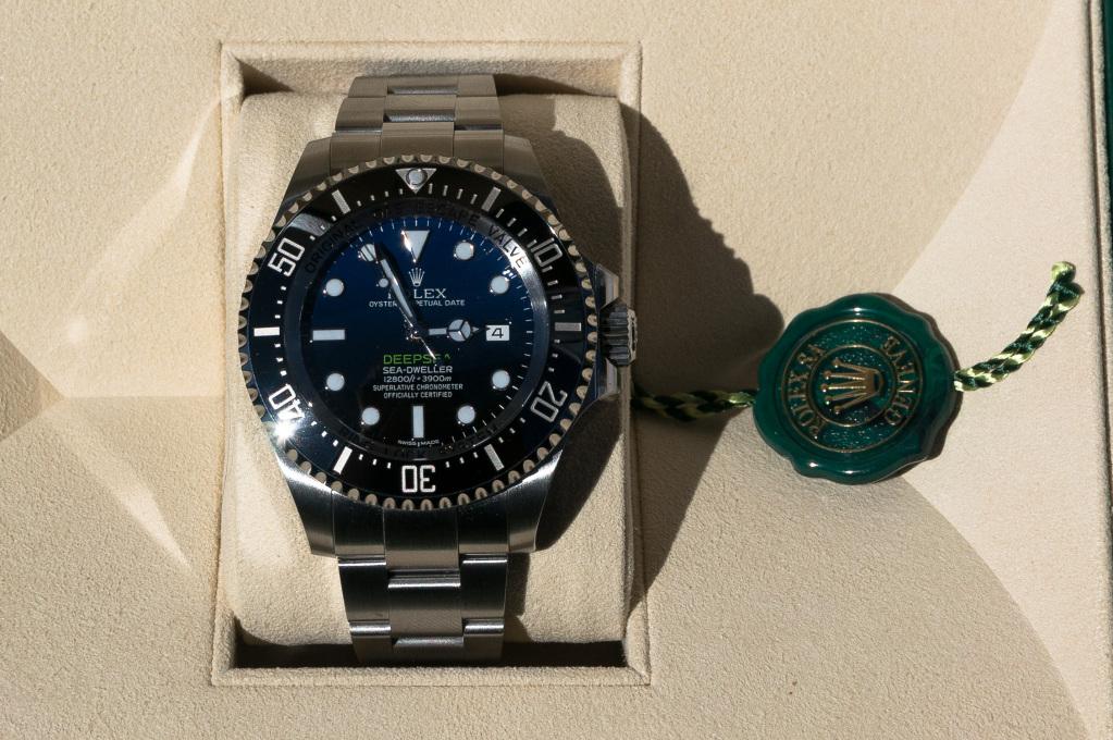 Présentation de la Rolex 116660 SDDS D-Blue James Cameron 1zox4id