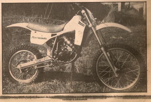 Las Motos de los Juniors 80 cc - 1985 20ustbc