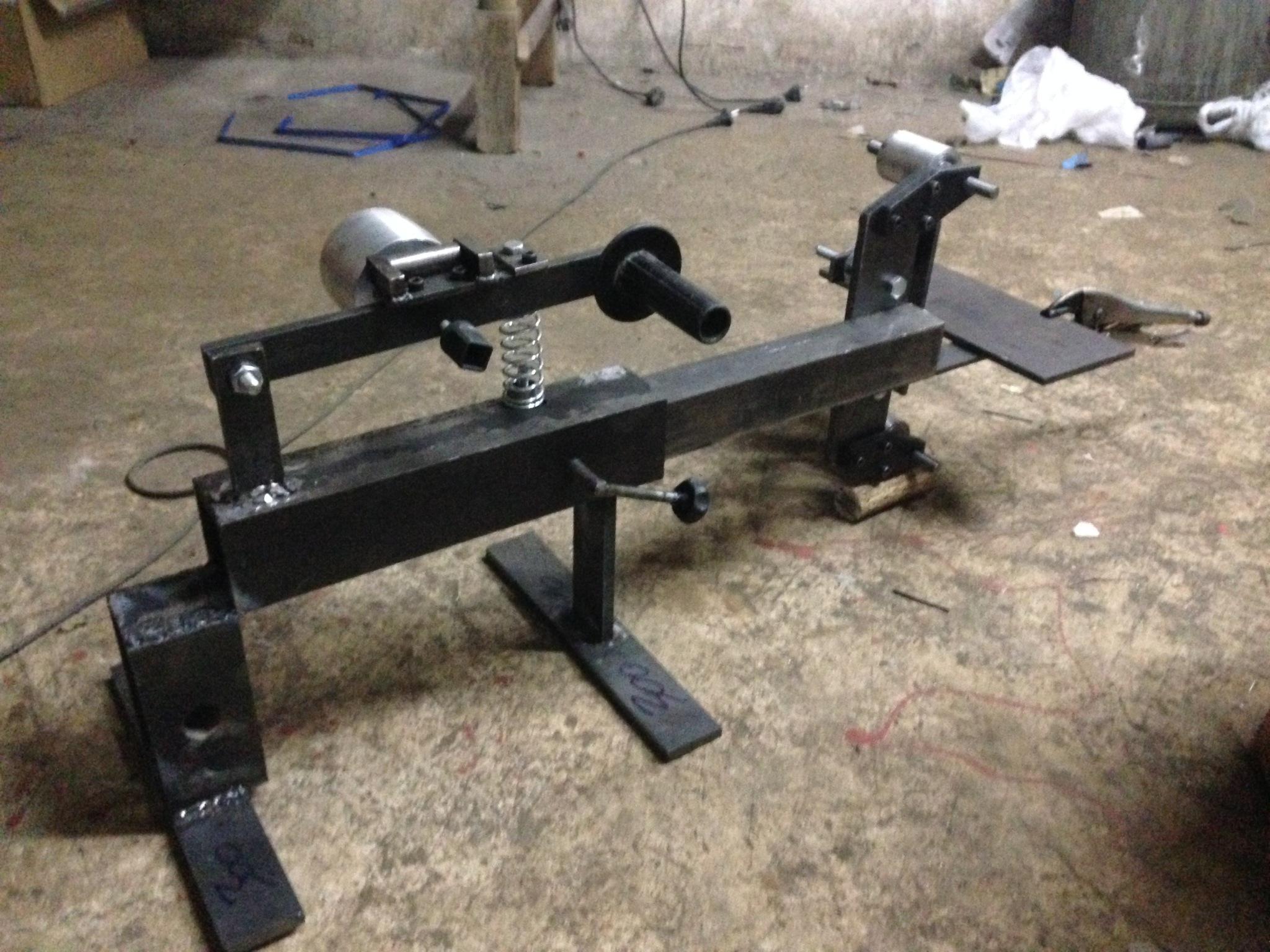 Belt grinder Replika KMG 211pcom