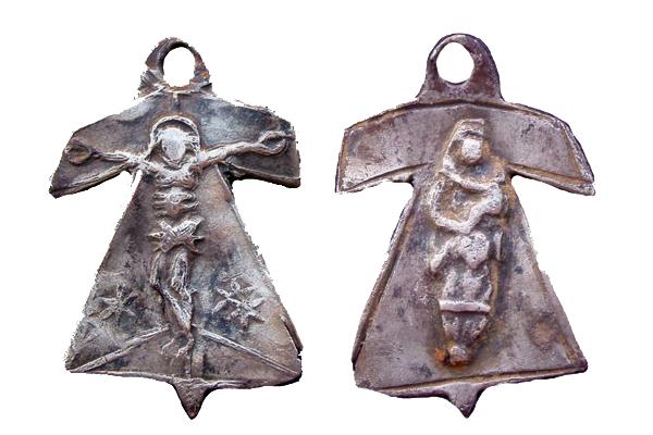 Santa Camisa de la Virgen en Chartres - s. XVII-XVIII (R.M. PFV-Camisa de Chartres 1) 213m6w1