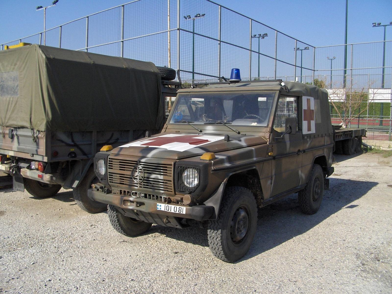 (W462): A Classe G montada em CKD para o exército grego 21kgidd