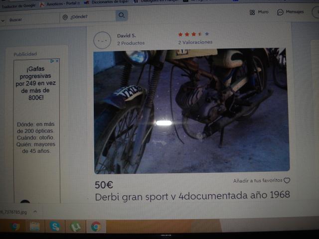 Comprar Derbi Gran Sport 23wwsi1