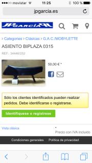 "Mobylette GAC 188 "" Super Lujo "" 24d0xdy"