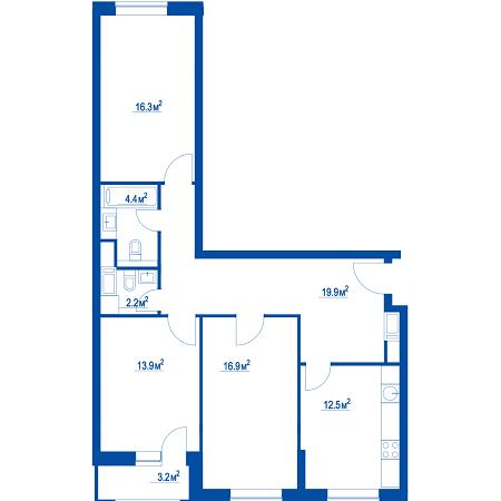 """Планировки квартир в ЖК """"Летний сад"""" - как в целом с этим у Эталона? 24et2me"""