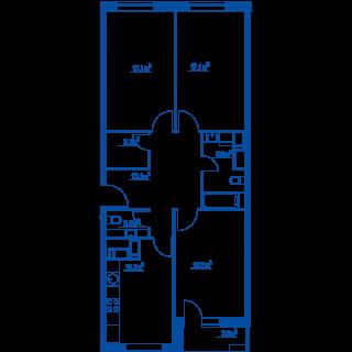 """Планировки квартир в ЖК """"Летний сад"""" - как в целом с этим у Эталона? 2573i1x"""