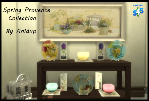 Provence Spring Collection 25a438m