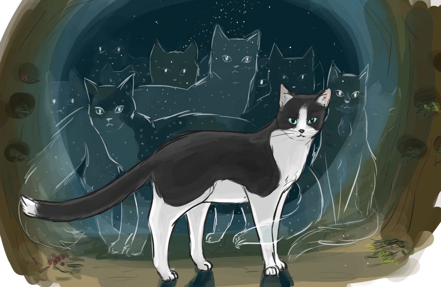 When the moon quits its job [+ Medicine cats of Windclan] 25gukvo
