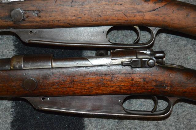 gewehr 88 et mousqueton 25s3d36