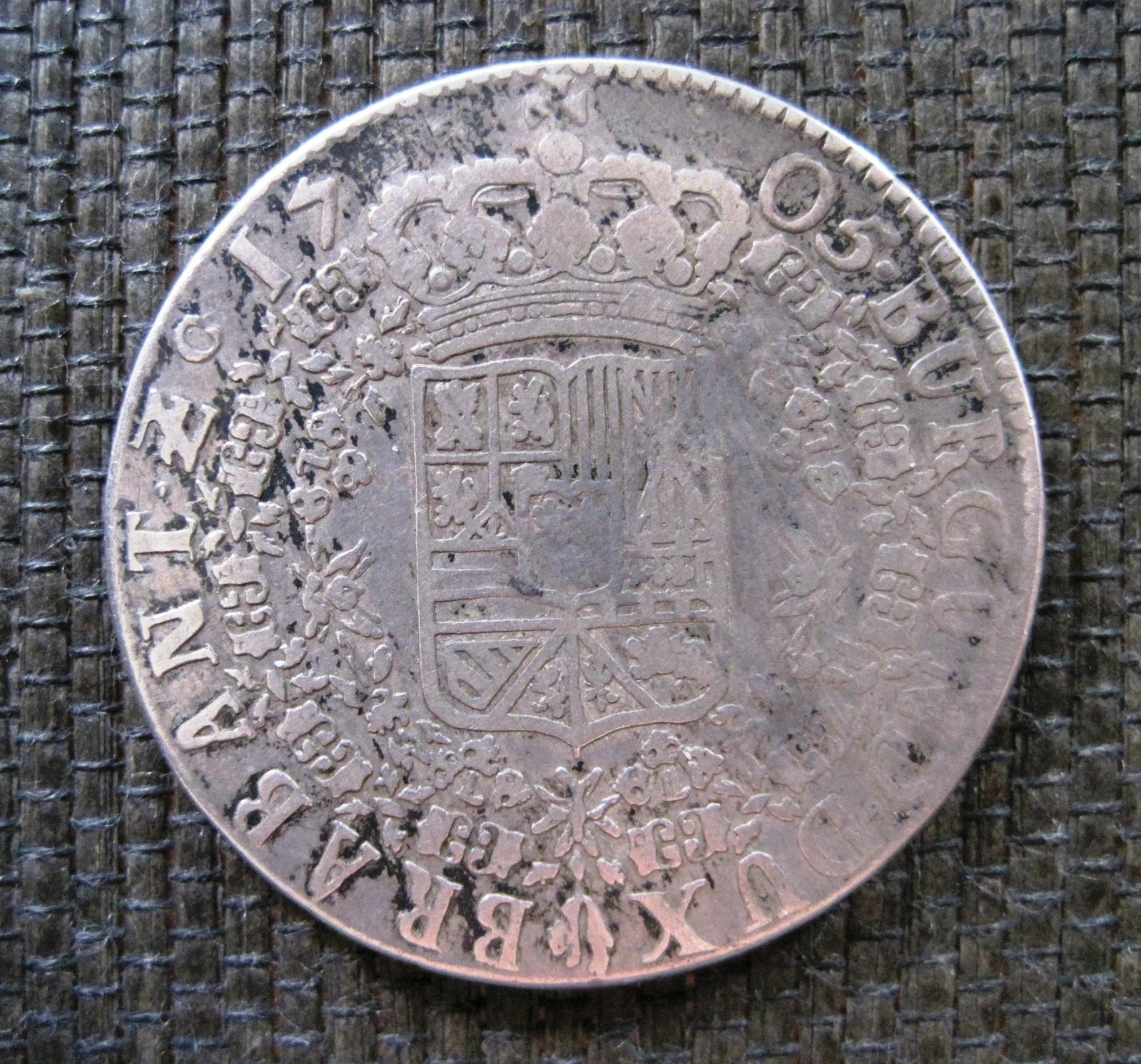 1705 Patagon a nombre de Felipe V, de Amberes. 29dw8s6