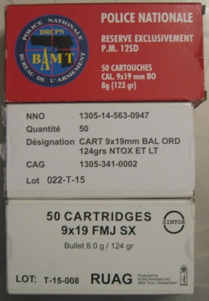 Boite 9mm para 29xt8ip