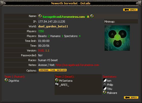 Novo Servidor BR - ONLINE 2crxf87