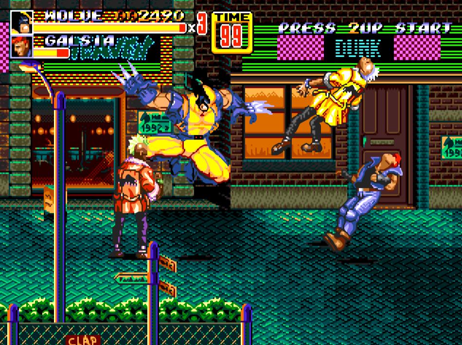Streets Of Rage 2 Wolverine 2cy1u2f