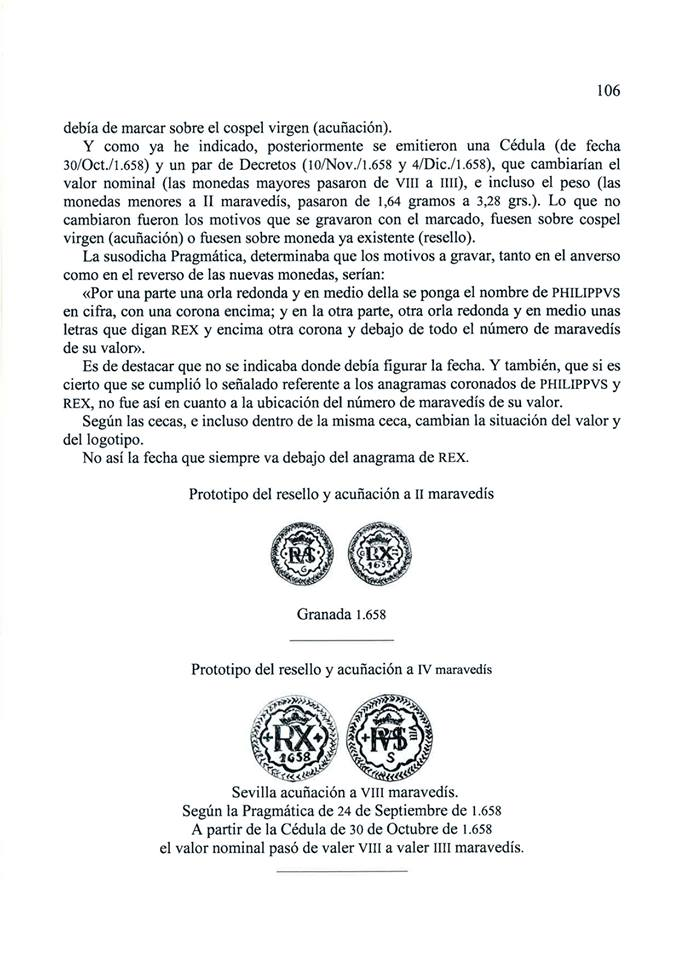 Nuevo libro escrito por Ignis: 'Mis apuntes sobre los resellos. Marcas sobre la moneda de vellón castellana del siglo XVII' 2dhsmbt