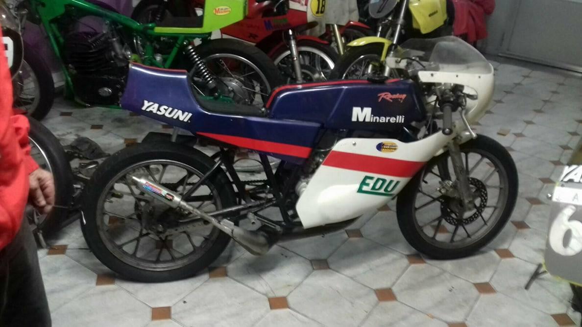 MH Minarelli 80 para circuito 2dmgrj8