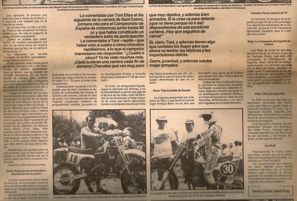 Las Motos de los Juniors 80 cc - 1985 2dv4nli