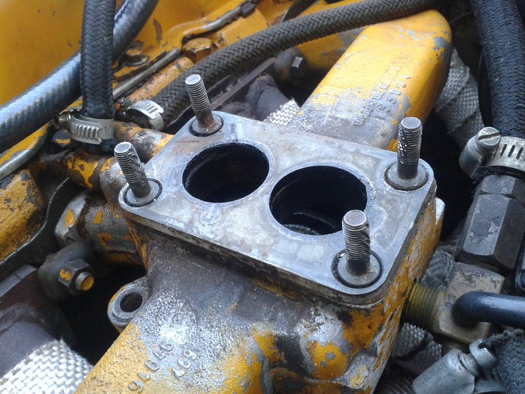 TUTORIAL de Instalação do Carburador 3E no Coletor do H34 com flange! 2efotvm