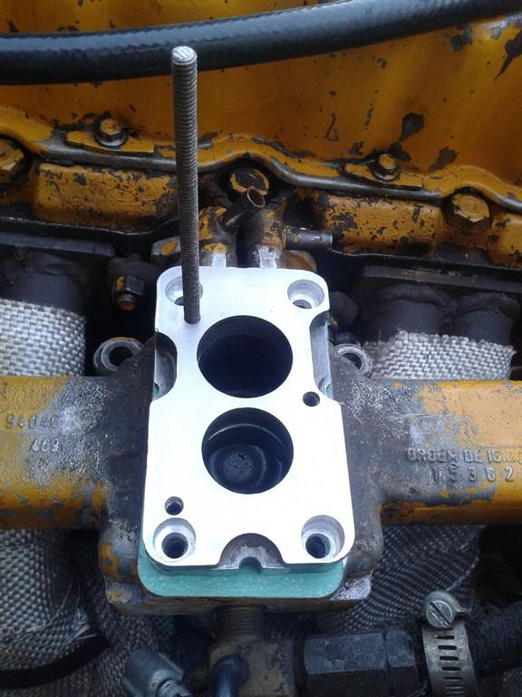 TUTORIAL de Instalação do Carburador 3E no Coletor do H34 com flange! 2h3243c