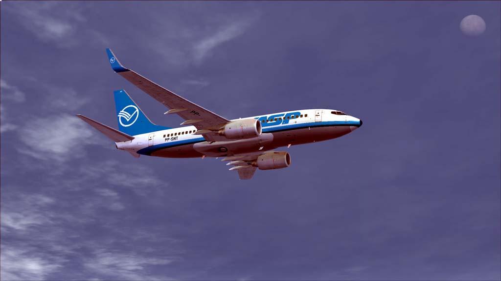 Boeing 737-700 Vasp 2hx62gy