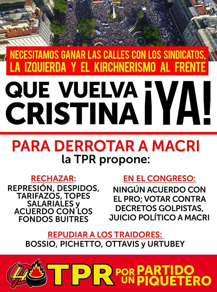¿Que opinan de la TPR(Tendencia Piquetera Revolucionaria) de Argentina? - Página 2 2iadilz