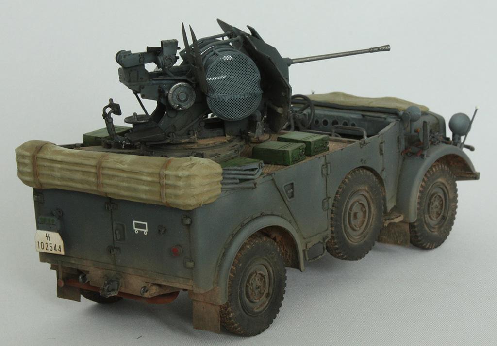 Horch Typ 1a w/2cm Flak 38 конверсия Tamiya+Dragon 1/35 2is9u1k