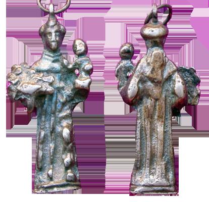 San Antonio de Padua Figurada plata (R.M. PFV-Antonio 6) 2luzxqe