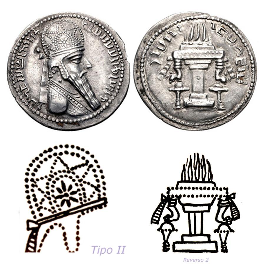 Las coronas de los shas de Persia. 2pt3v2p