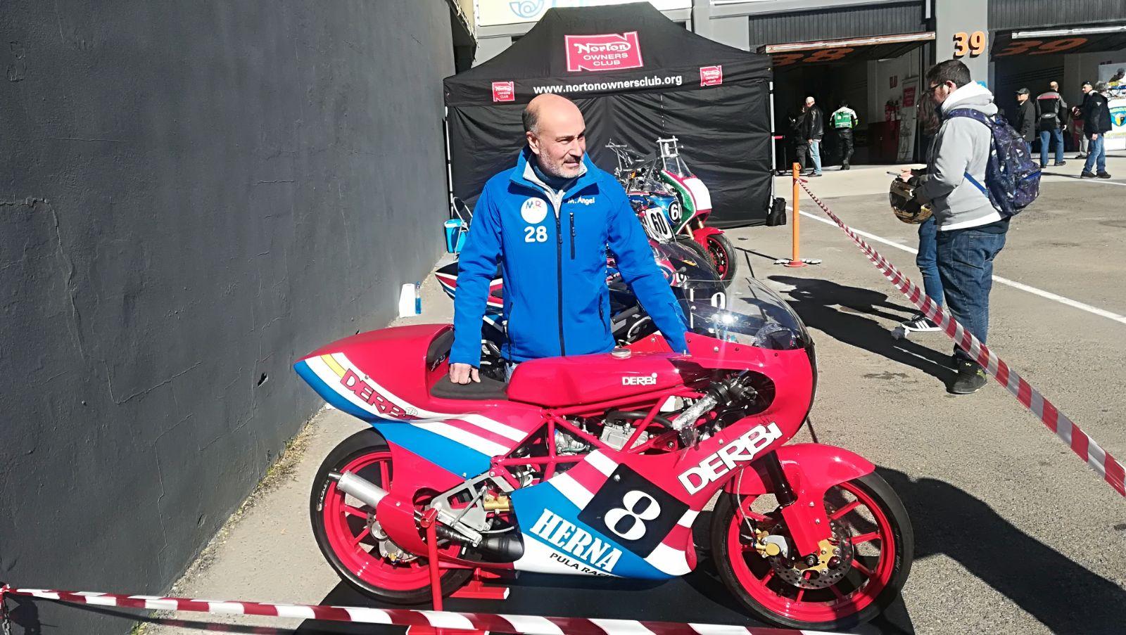 Replica Derbi 125 Moto Herna 2py418l