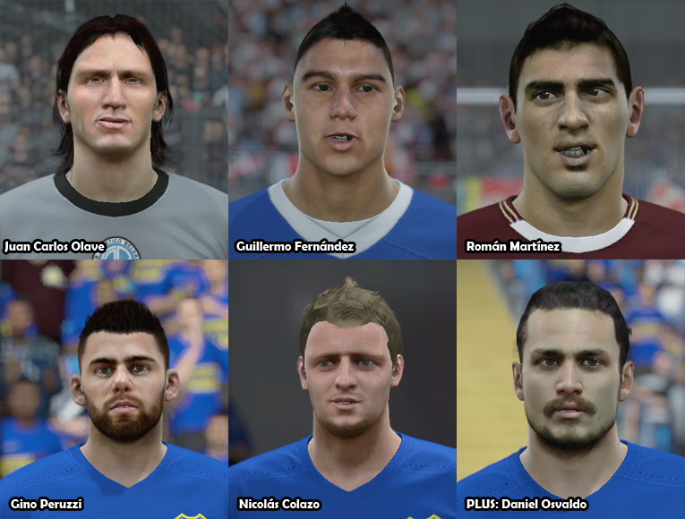Faces Futbol Argentino PACK 19 2q8ol7s
