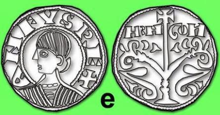 Dinero de Alfonso I de Aragón 1104-1134 Aragón. 2rwm6ae
