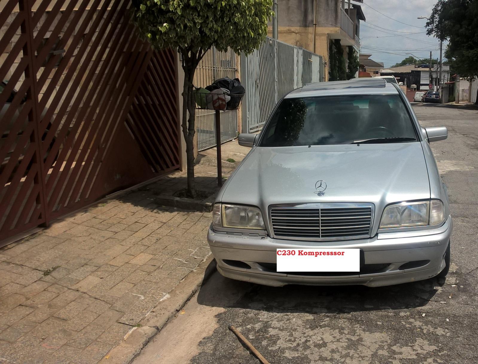 (VENDO): W202 C230 Kompressor 1997/1998 - R$ 33.000,00 2s8o0tf