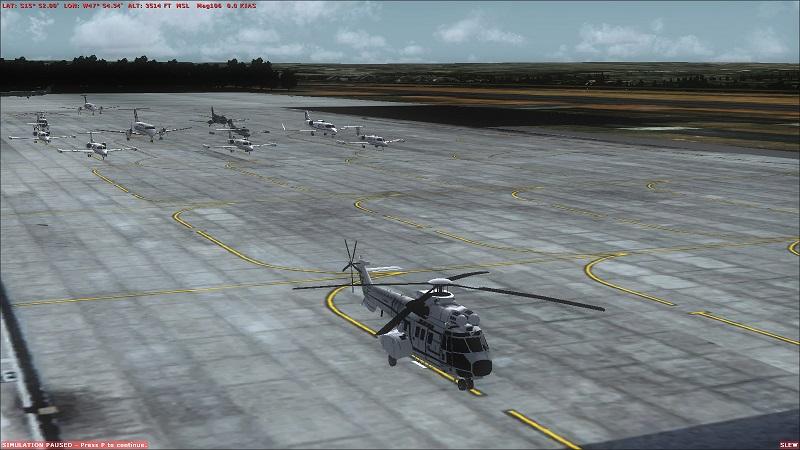 Tráfego - Trafego Brasil aviacao geral 2sbmiat
