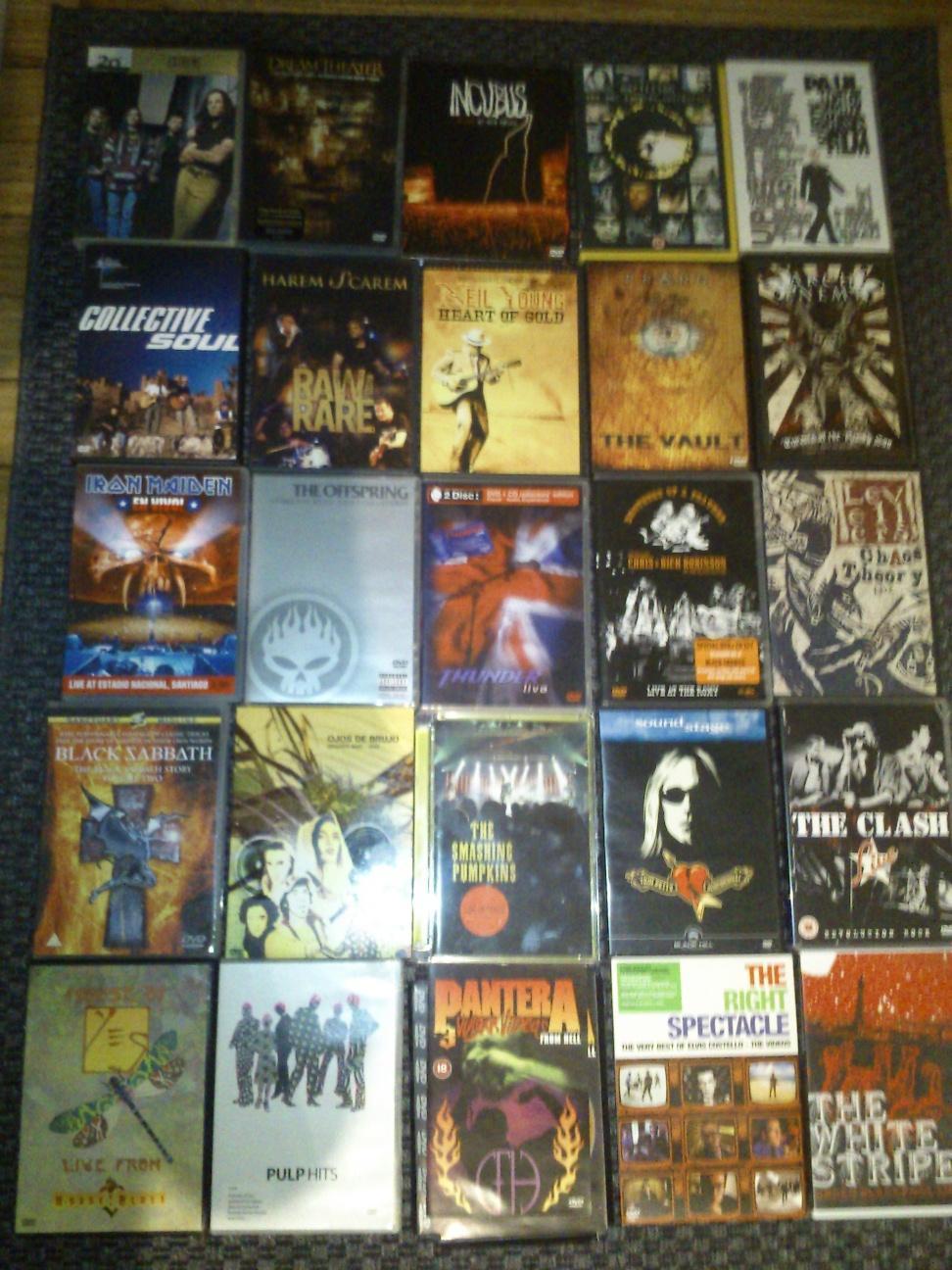 Vendo DVD's músicales  2v8j22q
