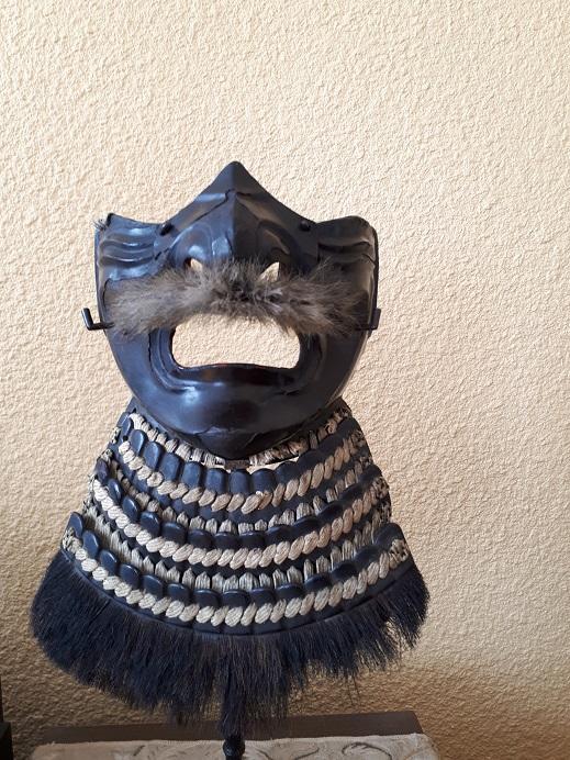 Menpo, masque Japonais 2vce4w7