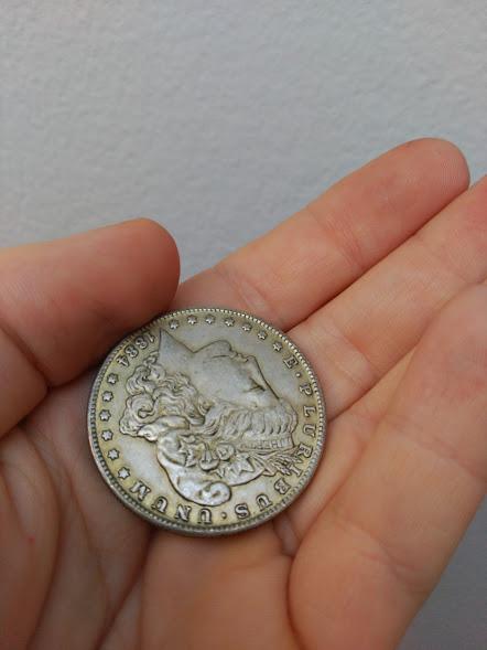 Estados Unidos 1 dólar, morgan 1884 2wd0jtl