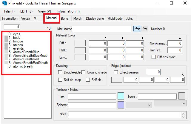 Conversión de archivos 3d MMD con el PMX Editor para The Movies 2wf1f6c