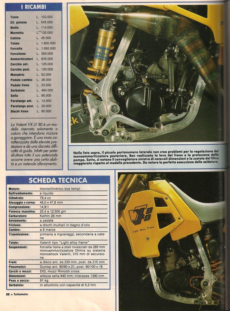 VALENTI MC80 1988 Aluminio 2yovcp5
