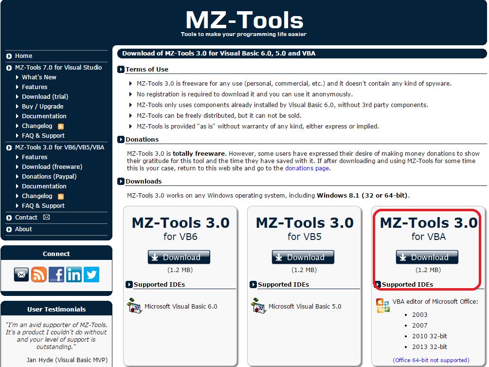 MZ-Tools 3.0 - Ferramenta para desenvolvedores. 2zyimnq
